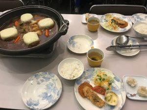 サマチャレ2日目夕食01