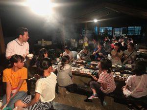 サマチャレ3日目夕食01